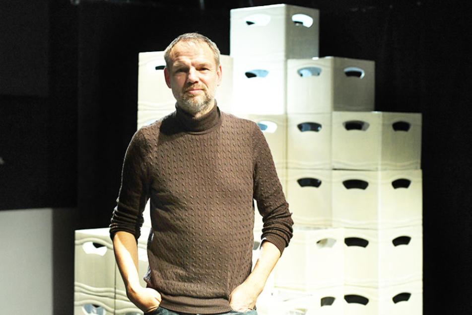 Regisseur Peter Lund (52) gilt als Vorreiter des politischen Theaters.
