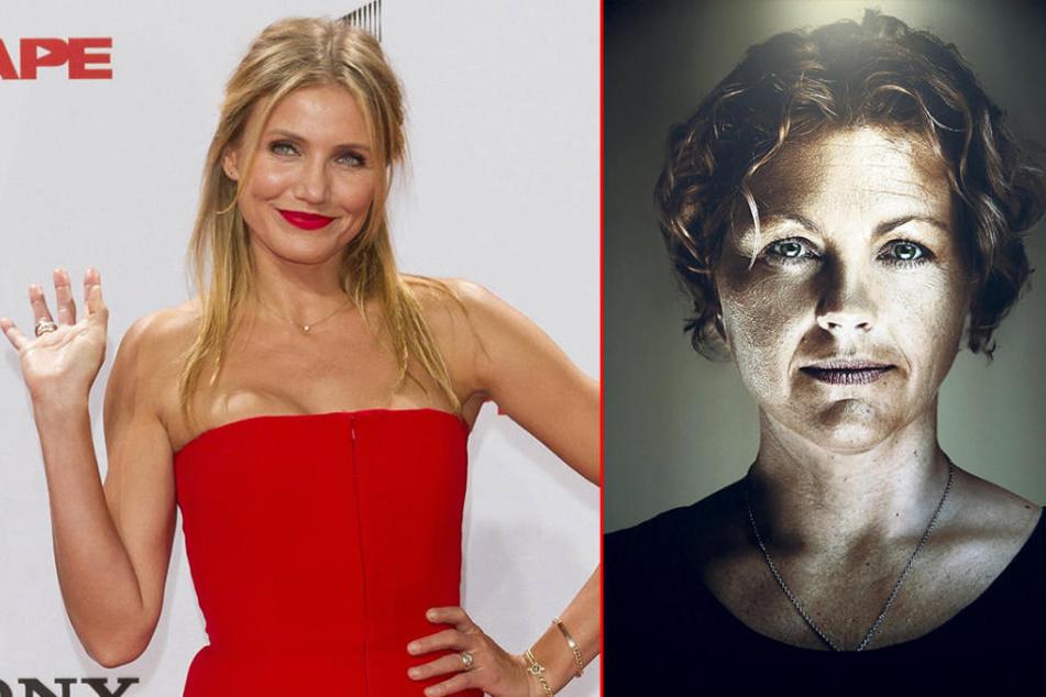 Hollywood-Star Cameron Diaz (44) verdankt ihre sexy Stimme der Berliner  Sprecherin Katrin Fröhlich (48).