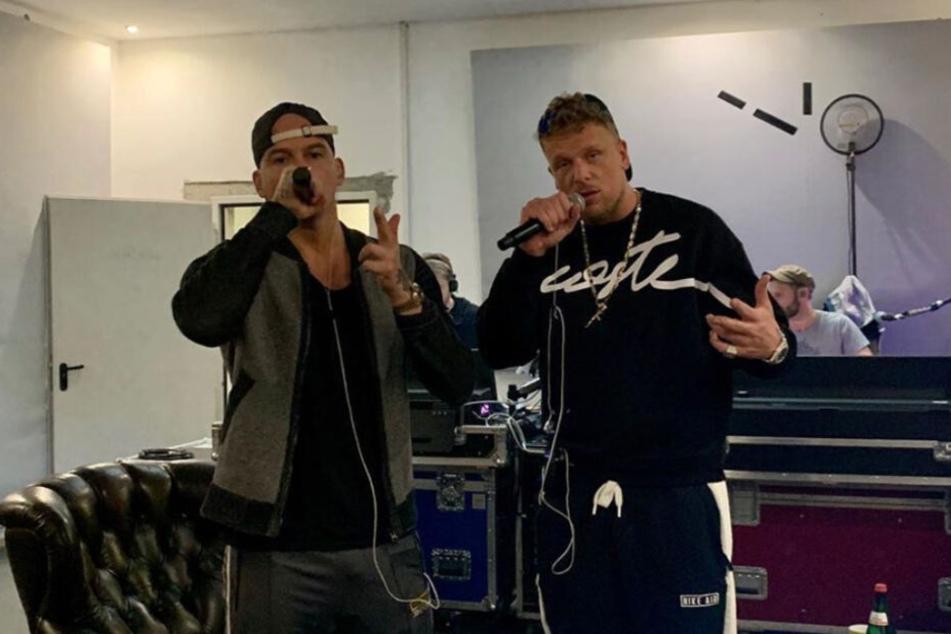 RAF Camora (links) und Bonez MC gehen derzeit gemeinsam auf Tour.
