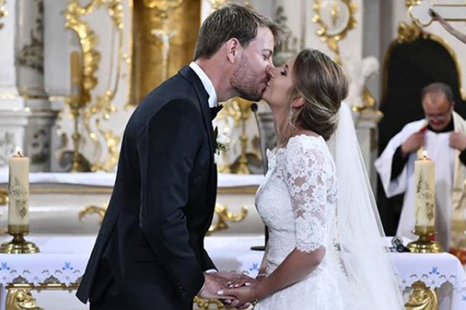 Im Juli heirateten Anna und Gerald zuerst in einer Wallfahrtskirche im polnischen Zamarte.