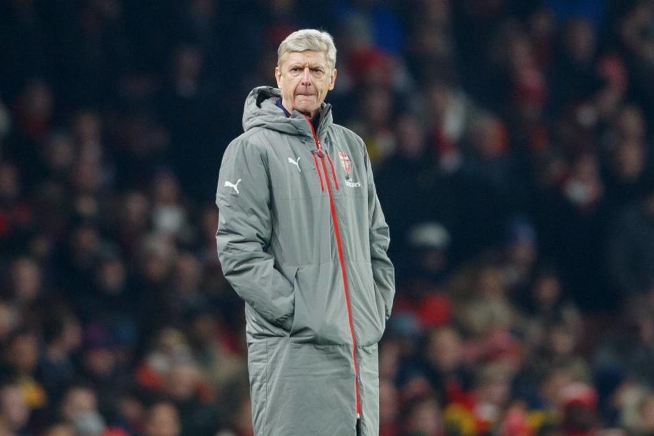 Noch trainiert Arsene Wenger Arsenal.