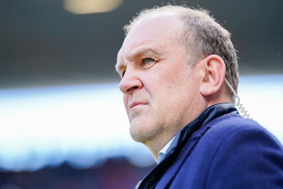 Jörg Schmadtke, Wolfsburgs Geschäftsführer Sport, schimpfte nach dem Spiel über den Videobeweis.