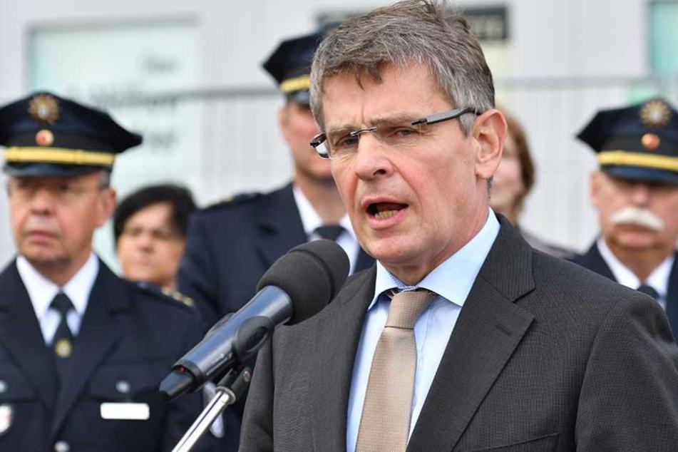 Berlins Polizeipräsident Klaus Kandt.