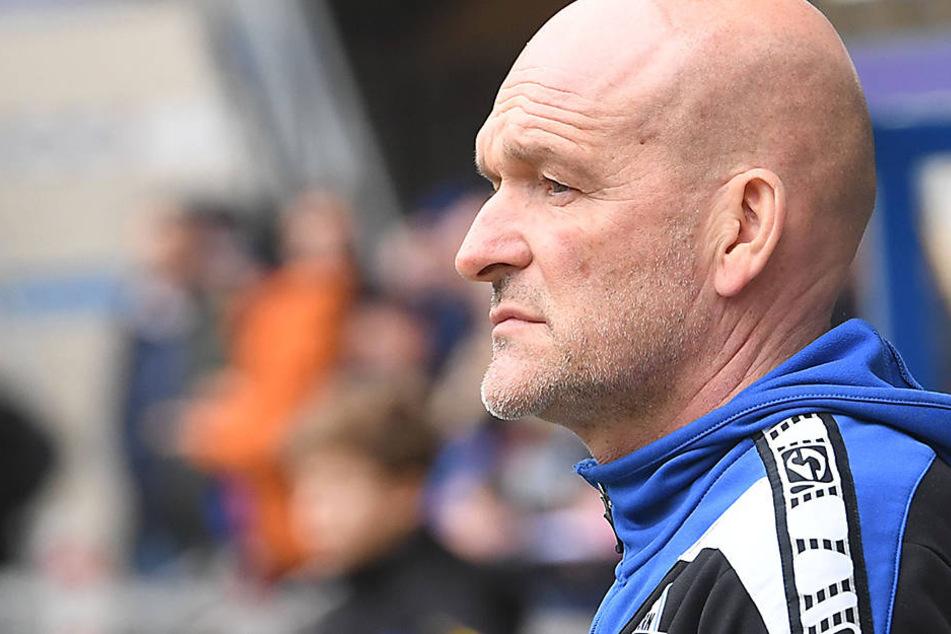 Stefan Emmerling will mit dem SC Paderborn wieder in die Erfolgsspur zurückfinden.