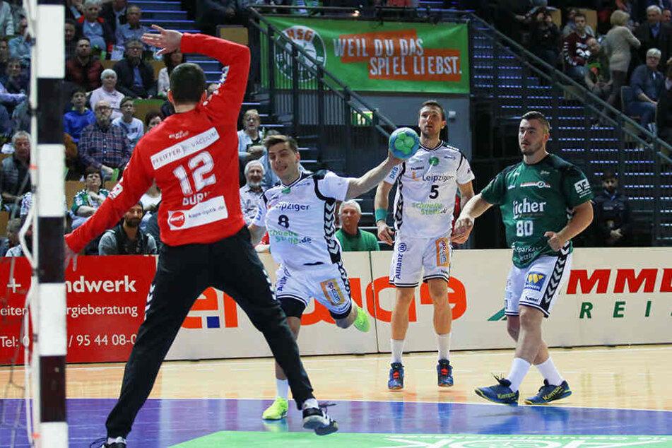 Das Leipziger Team musste in Wetzlar eine knappe Niederlage einstecken.