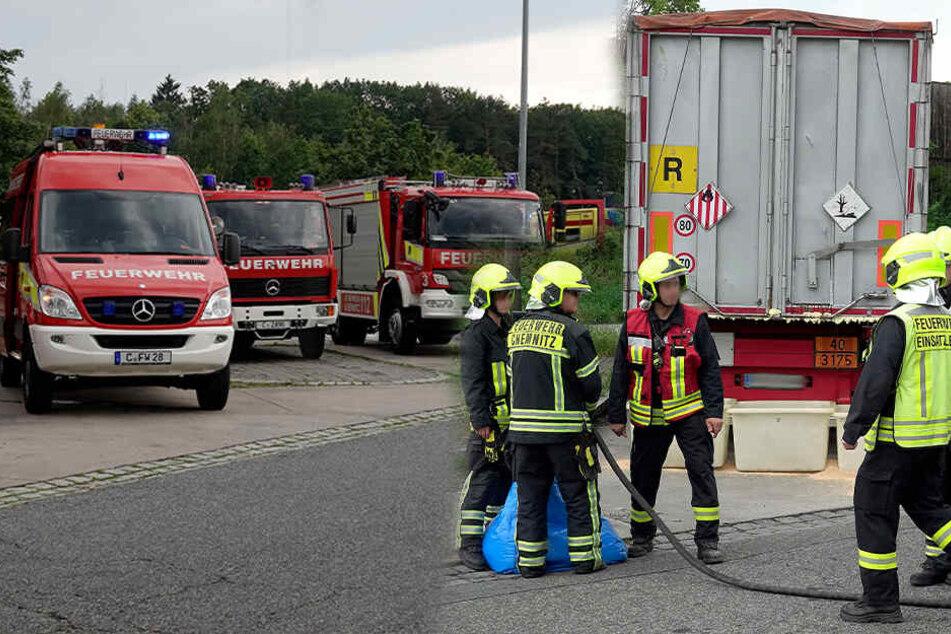 Giftalarm an A4: Feuerwehr im Großeinsatz!
