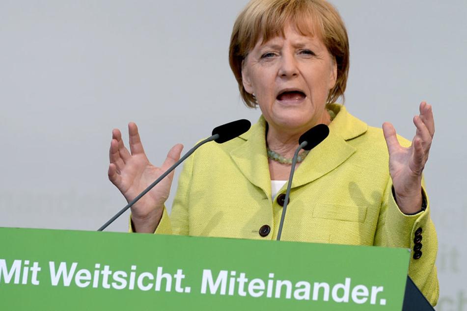 Merkel macht's möglich: Vor vier Jahren kam die CDU in Hessen auf 39,2 Prozent der Zweitstimmen.