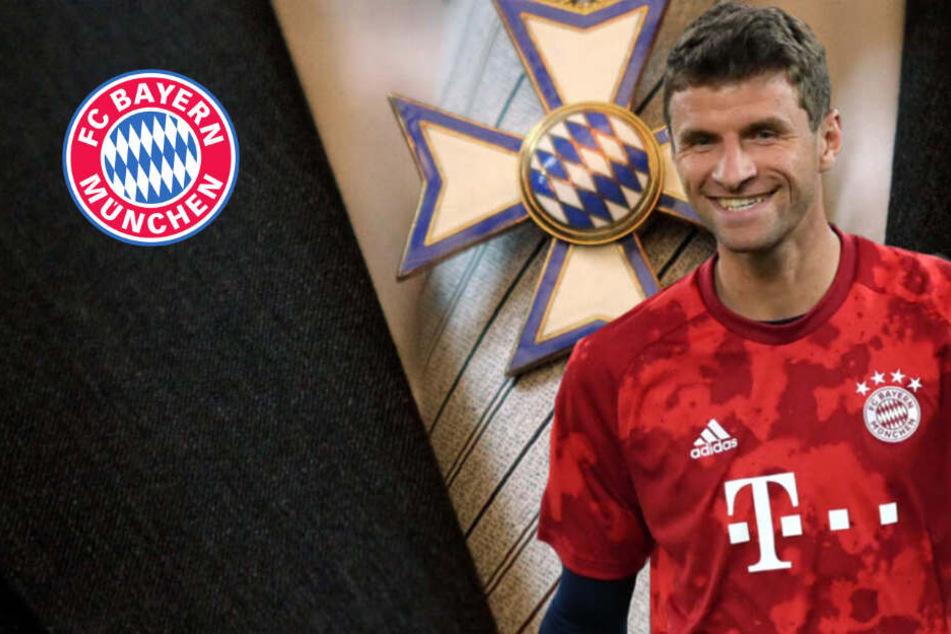 Bayern-Star Thomas Müller bekommt den Bayerischen Verdienstorden!