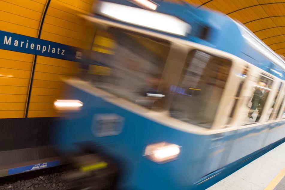Die U-Bahn-Station am Marienplatz in München ist besonders stark frequentiert.
