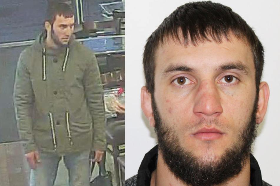 Die Polizei sucht nach Muslim Aliyashanov