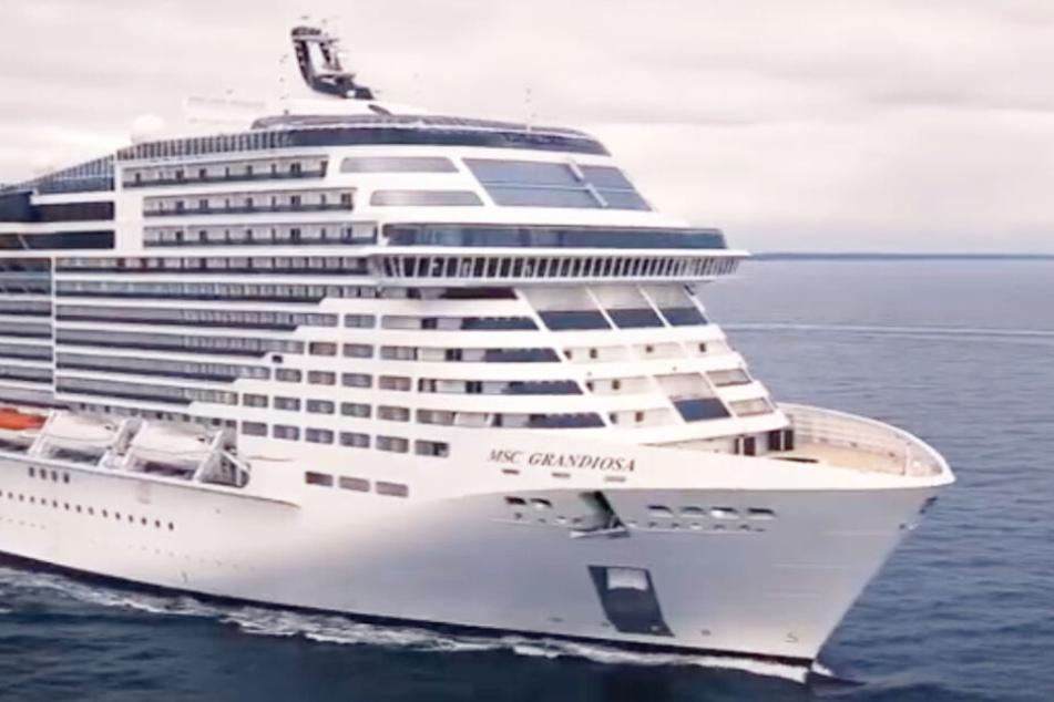 Die neue MSC Grandiosa ist das größte Schiff von MSC Cruises.