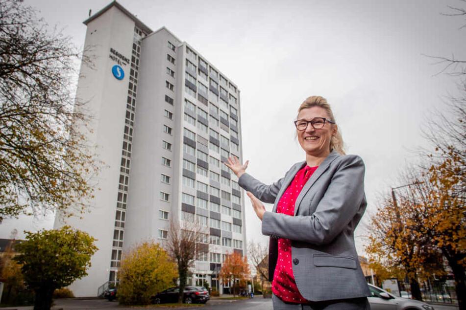 """""""Hereinspaziert"""": Susanne Punner lädt bei der Aktion """"Urlaub in Deiner Stadt"""" ins Chemnitzer Seaside Residenz Hotel ein."""