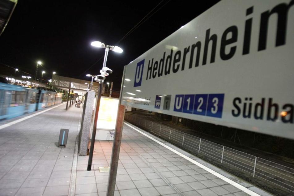 Der Sex-Täter schlug am U-Bahnhof Heddernheim zu.