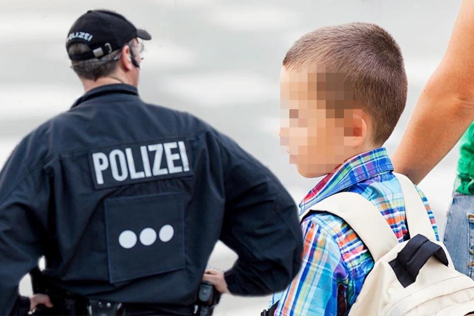 Mann gibt sich als Polizist aus und lockt Kinder in seine Wohnung