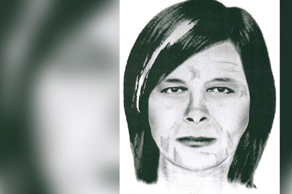 So soll die Frau aussehen, die zwischen dem 4. und 19. Januar 2011 auf dem Parkplatz in Schwarzenberg gesehen wurde.