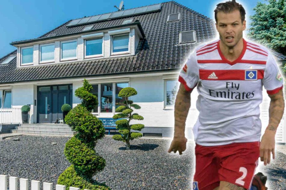 Villa steht zum Verkauf: So wohnt Fußballer Dennis Diekmeier