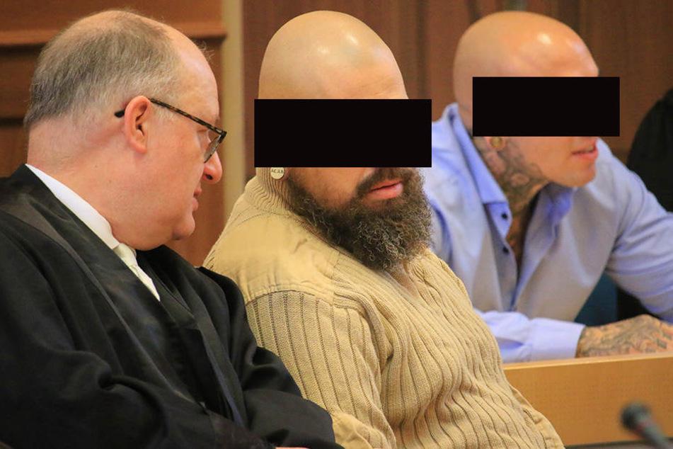 """Einer der Angeklagten war führendes Mitglied bei der Straßengang """"Saat des Bösen""""."""
