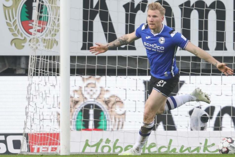 Andreas Voglsammer erzielte die 1:0-Führung für den DSC.