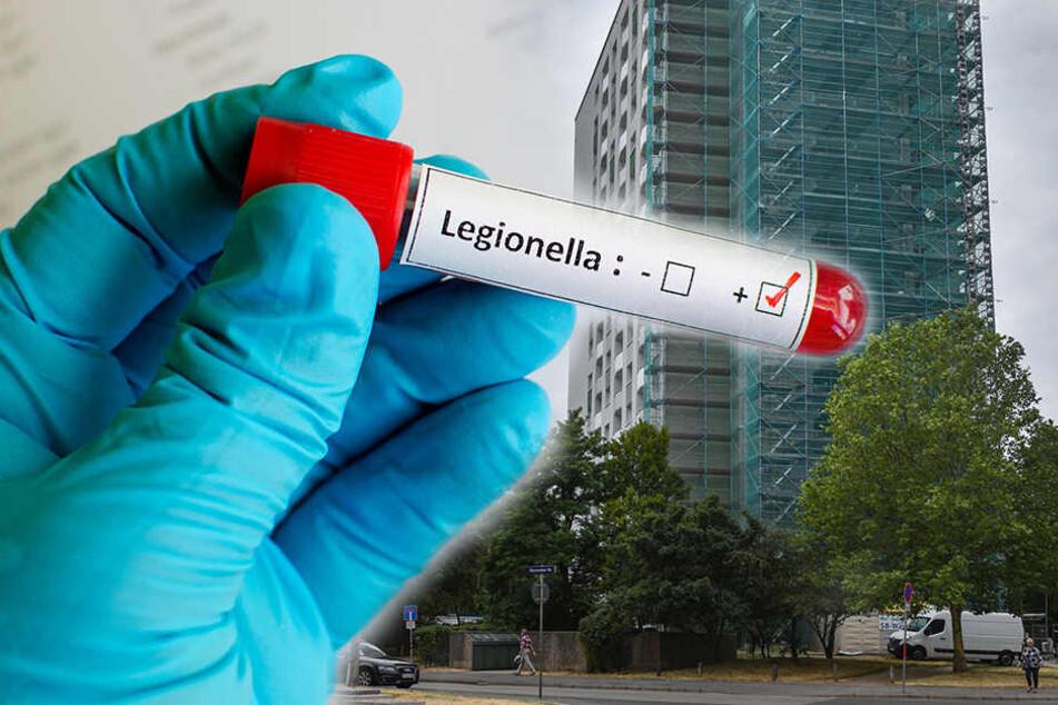 Legionellen Duschverbot