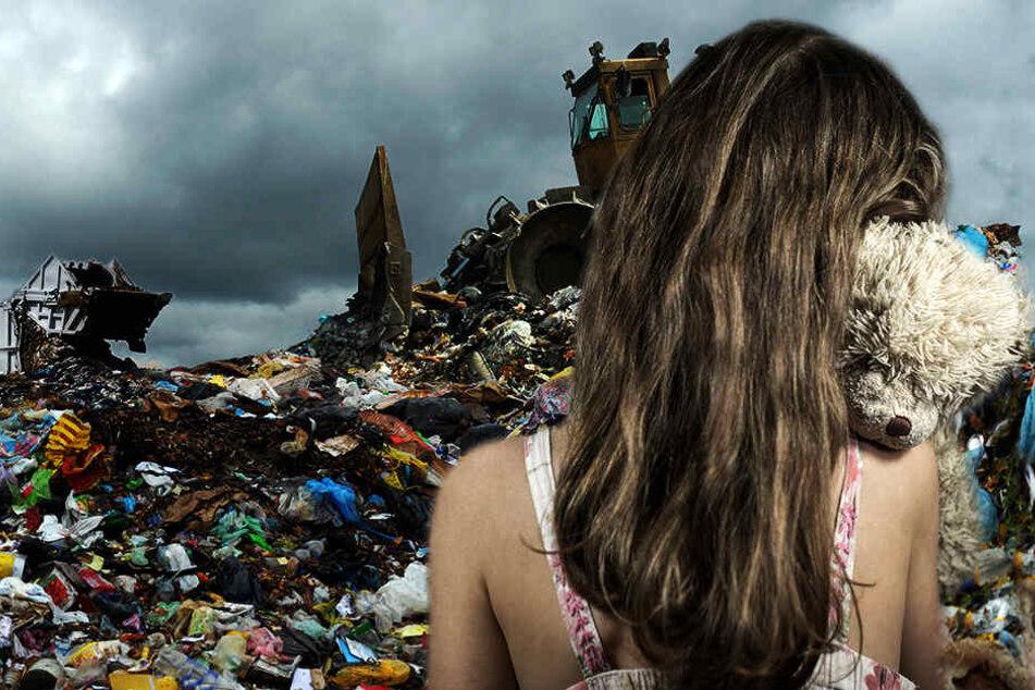 Siebenjährige vergewaltigt und getötet: Nackte Leiche auf Mülldeponie entdeckt