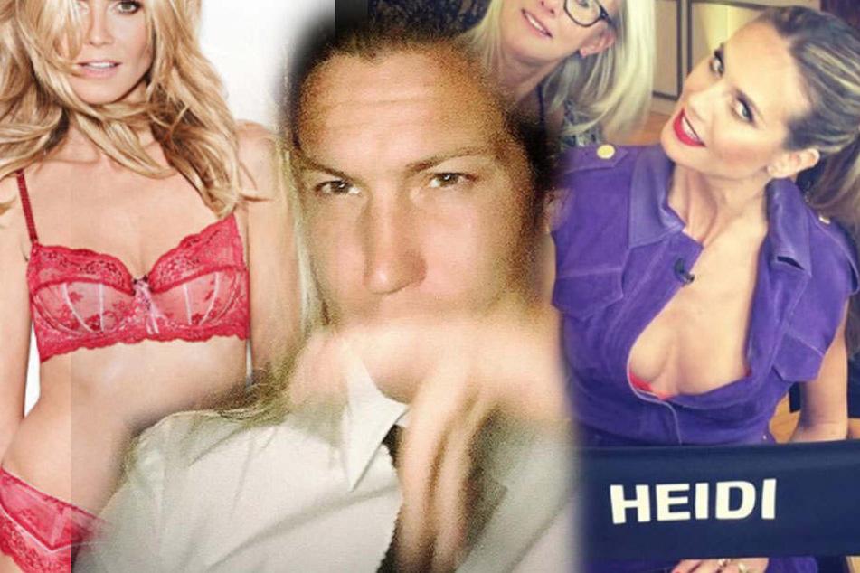 Hoppla! Vito Schnabel zeigt Heidi Klums Brüste offen im Netz