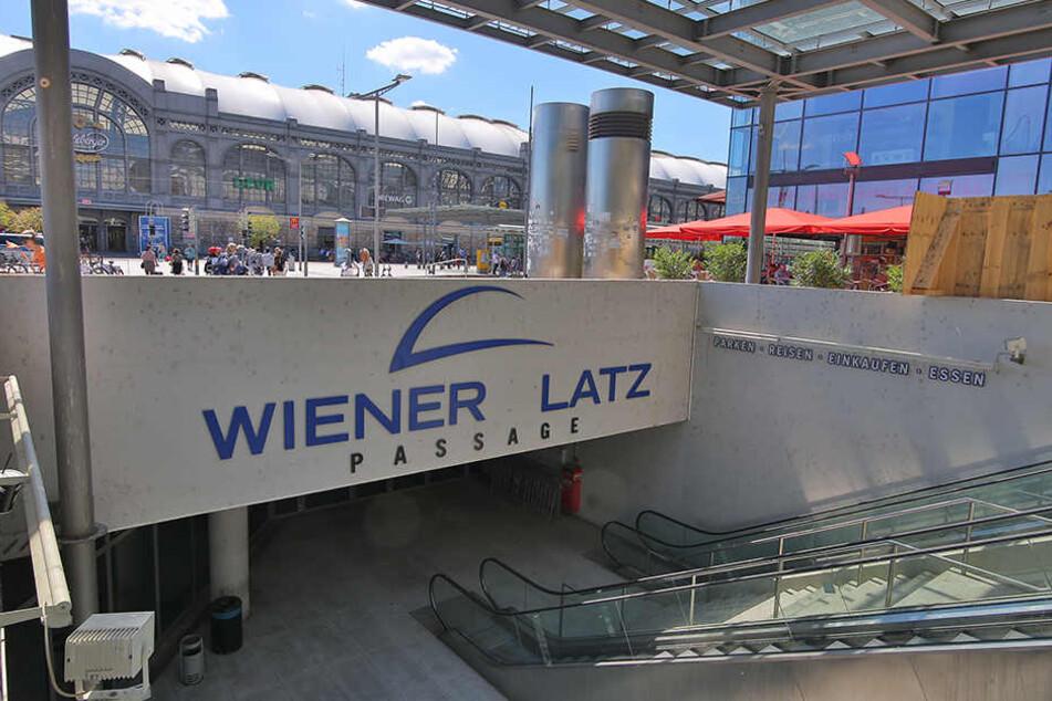 Der Wiener Platz gilt als Drogen-Brennpunkt Dresdens.