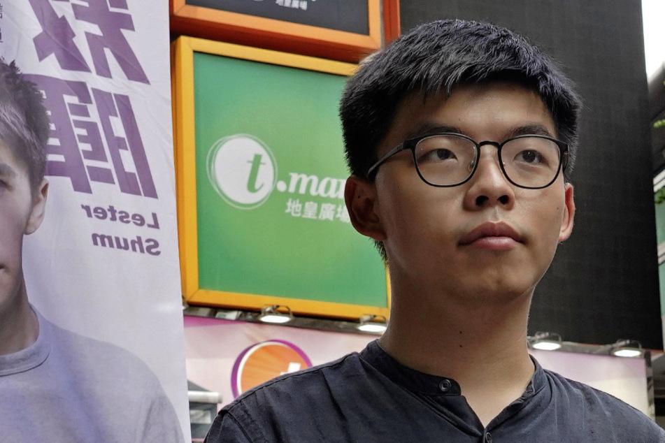 Joshua Wong, Pro-Demokratischer Aktivist