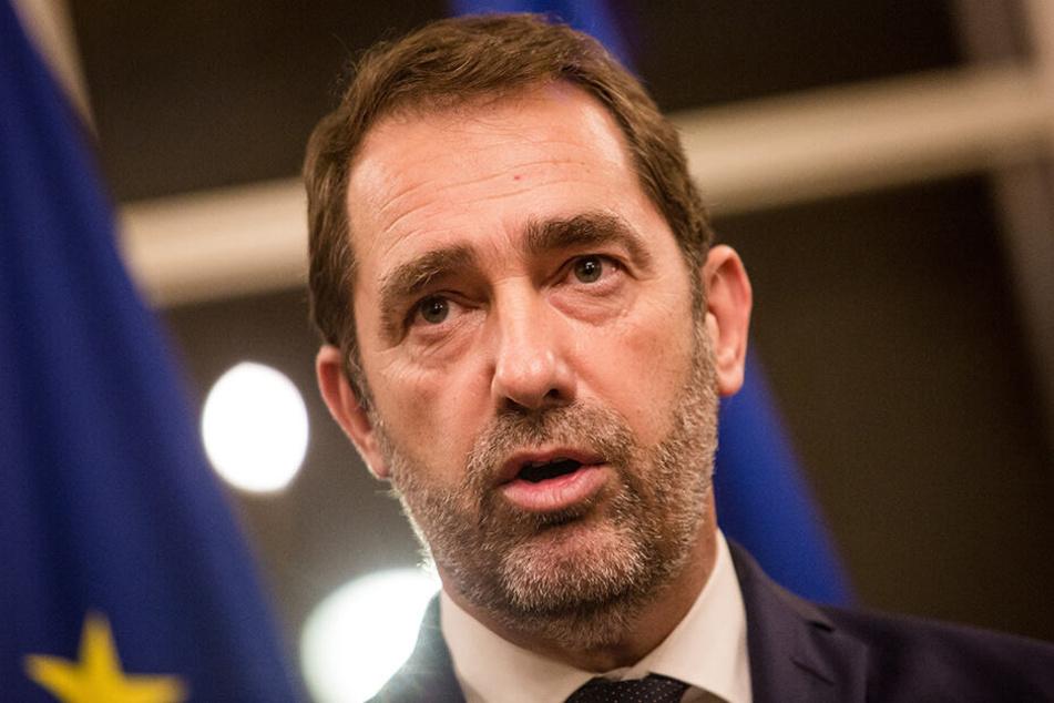 Christophe Castaner, Innenminister von Frankreich, informierte via Twitter über den Ausgang des Angriffs.