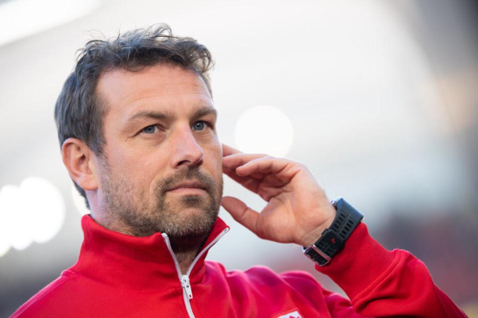 Trainer des VfB Stuttgart Markus Weinzierl.