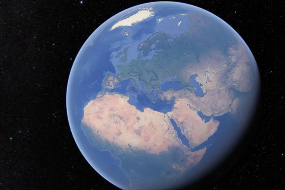 Wart Ihr schon einmal auf Google-Earth unterwegs?