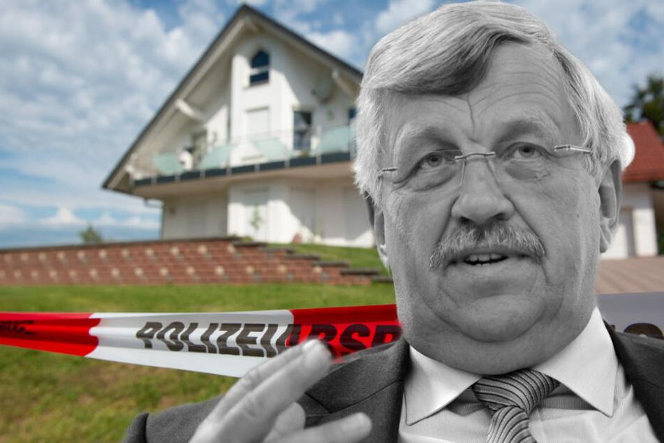 Fotomontage: Regierungspräsident Walter Lübcke (CDU/65) wurde mit einer Schusswunde am Kopf in seinem Wohnhaus in Wolfhagen entdeckt.