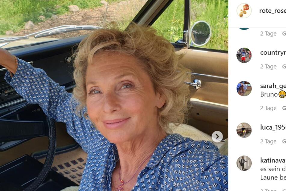 Wookie Mayer (66) ist eine Neue - vielleicht ist sie ja auch schon beim Autokino-Fantag dabei...