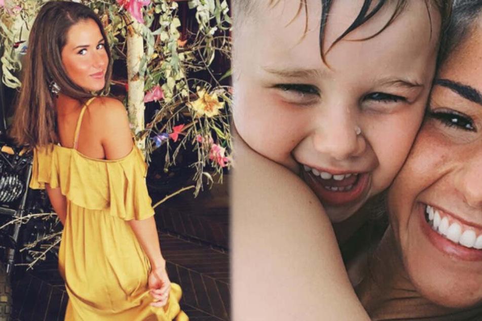 Sarah Lombardi ist einfach dankbar für ihren gesunden Sohn Alessio.