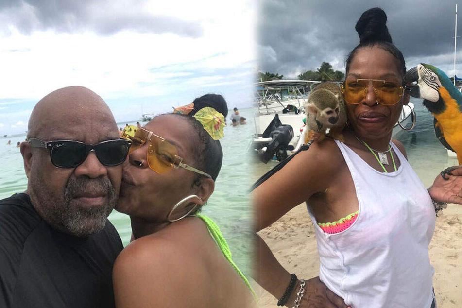 Die beiden machten Urlaub in der Dominikanischen Republik