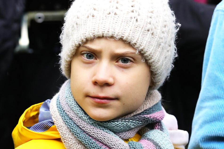 Greta Thunberg, Klimaschutzaktivistin aus Schweden.