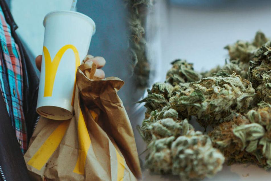 Überraschung bei McDonalds: Extra Zitrone bestellt, Gras bekommen