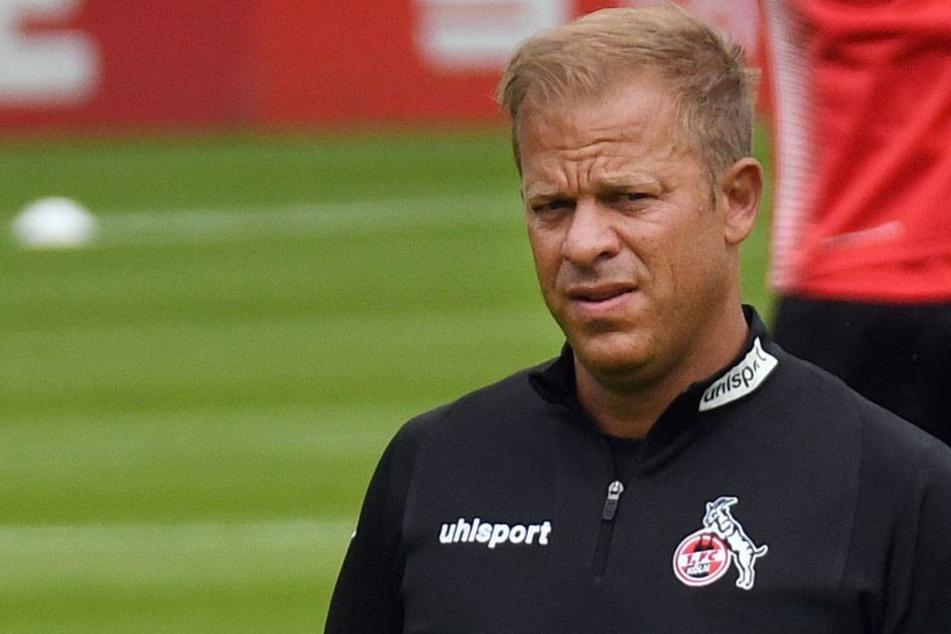 FC-Trainer Markus Anfang (44) sah erneut keinen Sieg seiner Mannschaft (Archivbild).