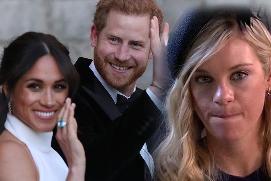 Meghan und Harry luden Chelsea Davy doch noch zu ihrer Hochzeit ein.