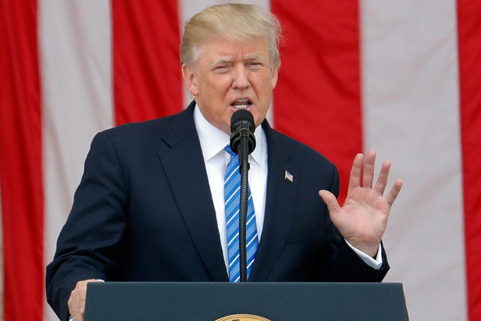 Der US-Präsident will sich laut US-Medienberichten aus dem Pariser Klimaschutzabkommen zurückziehen.