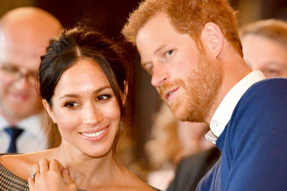 Meghan und Prinz Harry geben sich am Samstag das Ja-Wort.
