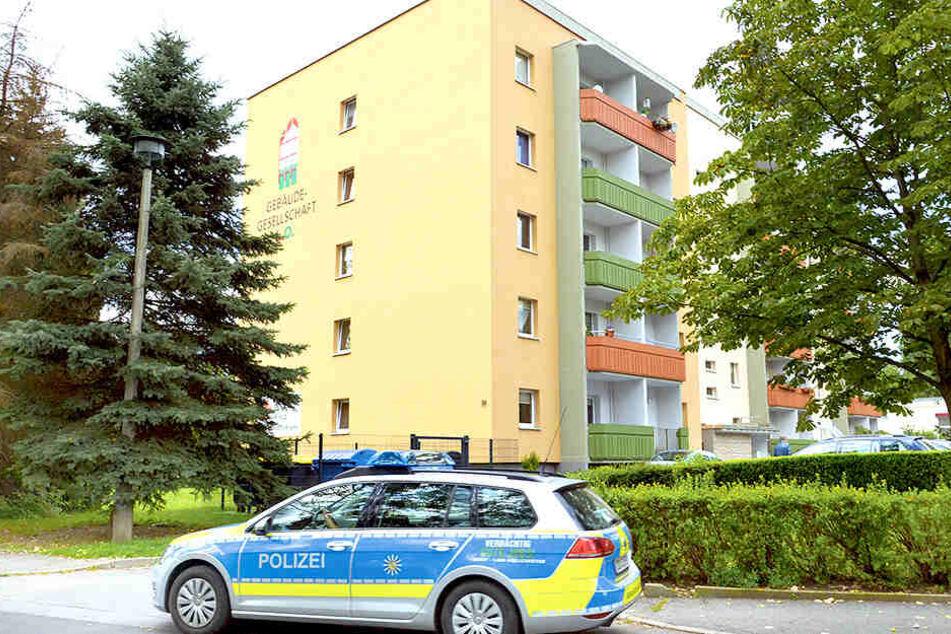 Tatort Heinrich-Mauersberger-Ring: Hier wurde gestern ein Bewohner (58) gewaltsam umgebracht.