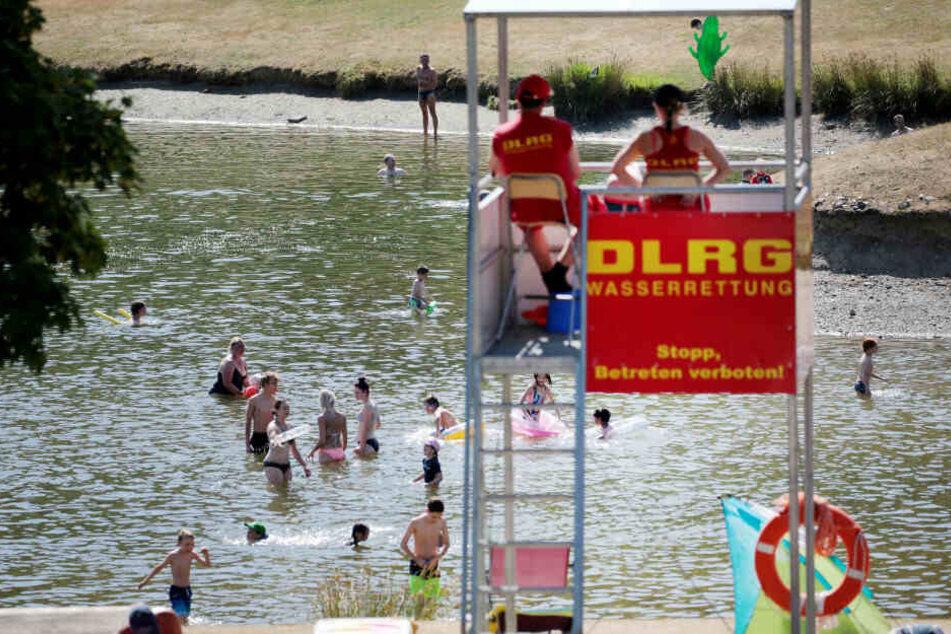 Der Rekordsommer hat viele Badegäste angelockt. (Symbolbild)