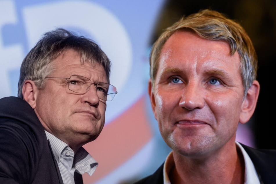 Björn Höcke will mehr Ostvertreter in der AfD, doch Parteichef Meuthen sieht das ganz anders