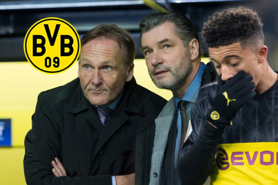"""Schlammschlacht um Sancho? BVB-Youngster ist """"traurig und verwirrt"""""""