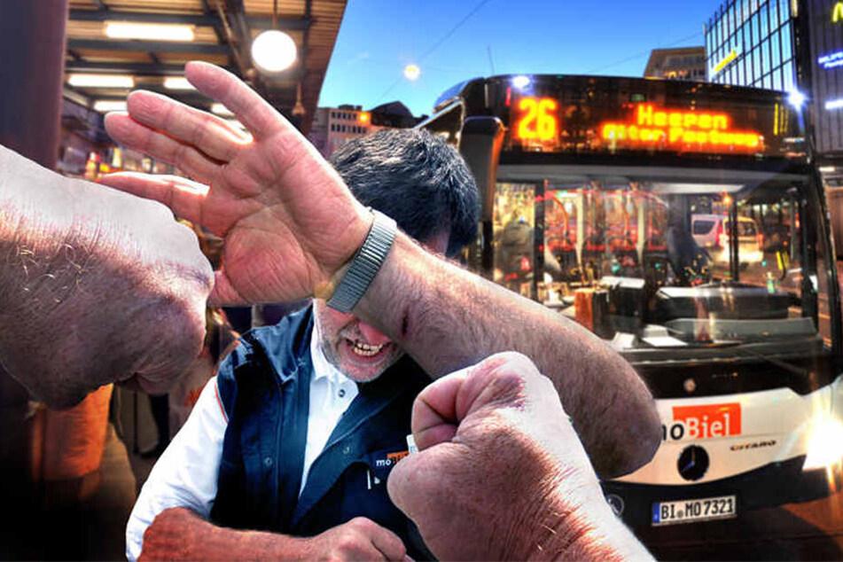 Beleidigungen und körperliche Attacken gegenüber Busfahrern nehmen stark zu.