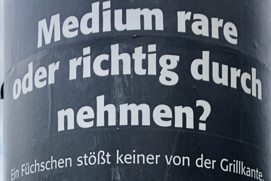 Der Slogan des Plakates, dass im Landtag für Aufregung gesorgt hat.