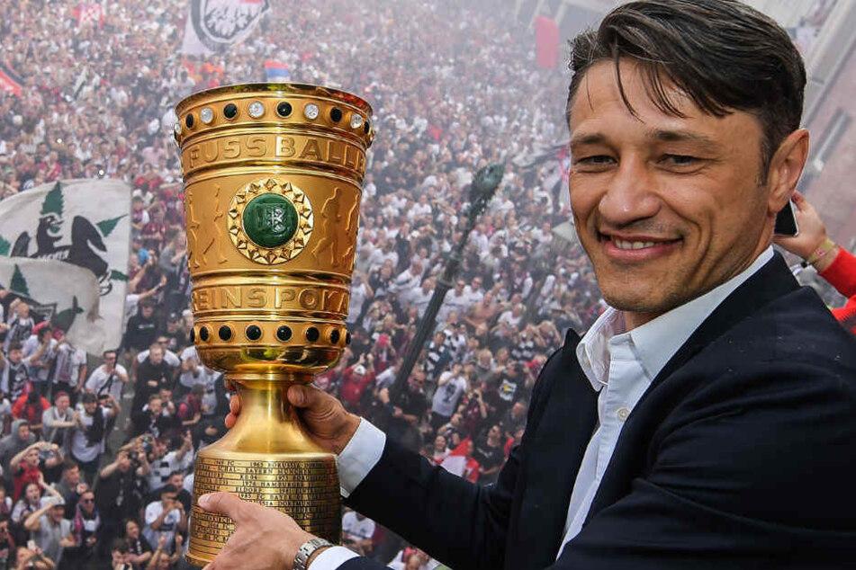 Vor wenigen Wochen holte Niko Kovac mit Eintracht Frankfurt den DFB-Pokal