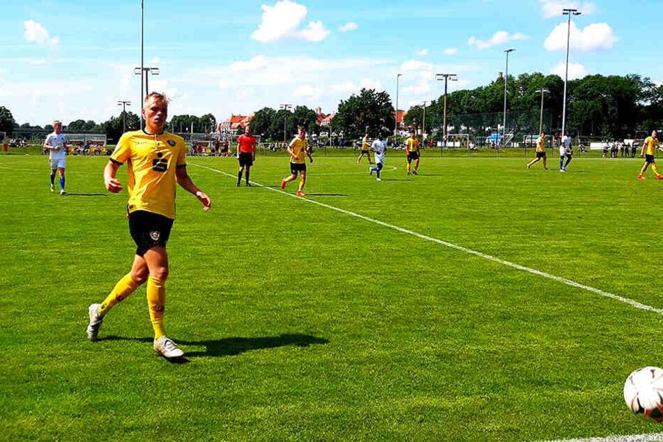 Jonas Kühn erzielte für Dynamos U17 den zwischenzeitlichen 2:2-Ausgleichstreffer.