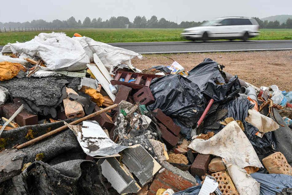 Allein die fachgerechte Entsorgung des Müllbergs bei Birkholz würde rund 1800 Euro kosten.