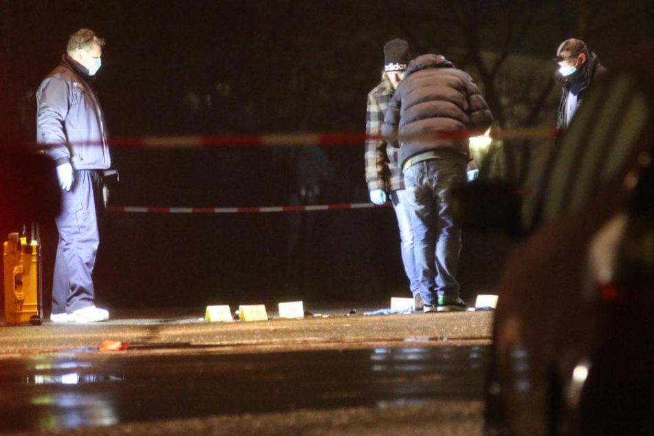 In der Oderstraße mitten in einem Industriegebiet wurde die Frau mit einem Schuss in den Kopf getötet.